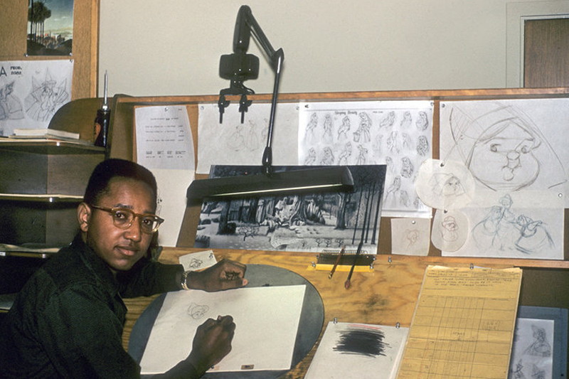 At 81, Disney's First African-American Animator Still In Studio
