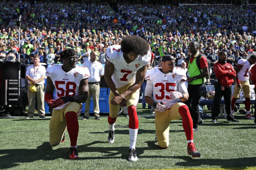 More than 40 players across NFL takes stand with Colin Kaepernick in powerful protests against racial inequality