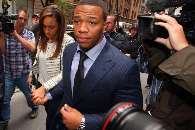 Ray Rice discusses sexual assault at Big 12 forum