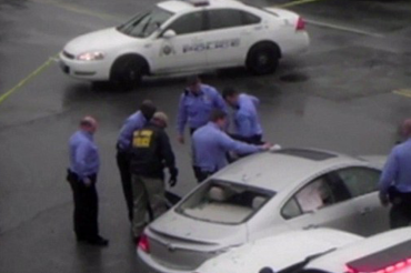 Horrifying moment St. Louis officer shoots black man five times, uses personal AK-47