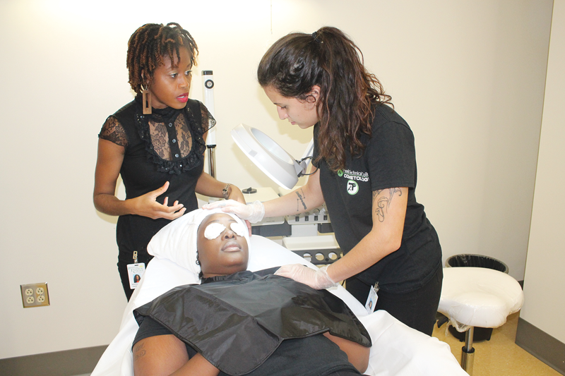 Skin care specialist program at PTC