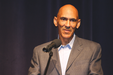 Dungy back in the Bay