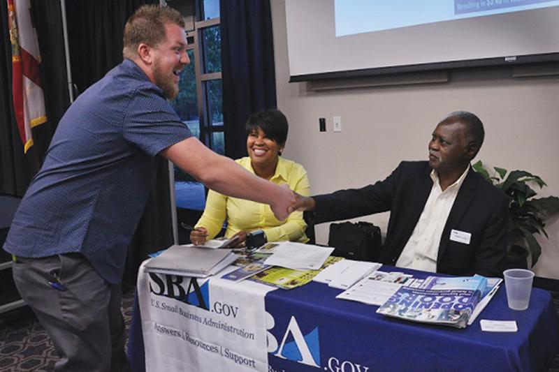 Florida Small Business Development Center sponsors reverse tradeshow