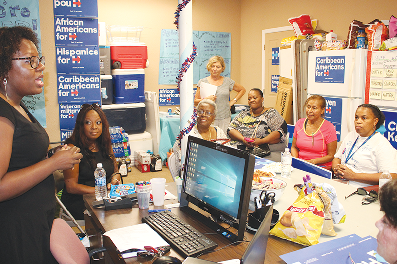 Small business owners look to Hillary Clinton for progress