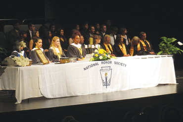 Gibbs inducts 2016 National Honor Society members