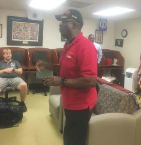 Lonnie Winbush, veterans, featured