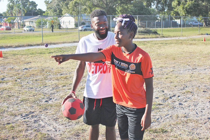 Fifth-graders score leadership in new soccer club