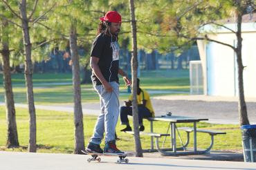 Do black people skateboard? Part 1