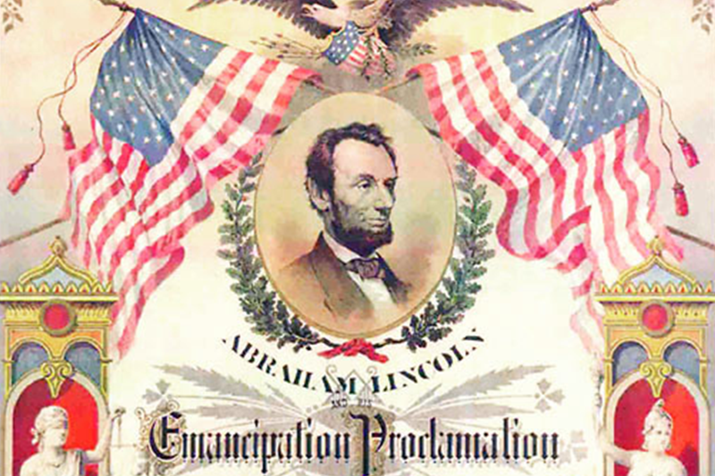 emancipation proclamation, featured