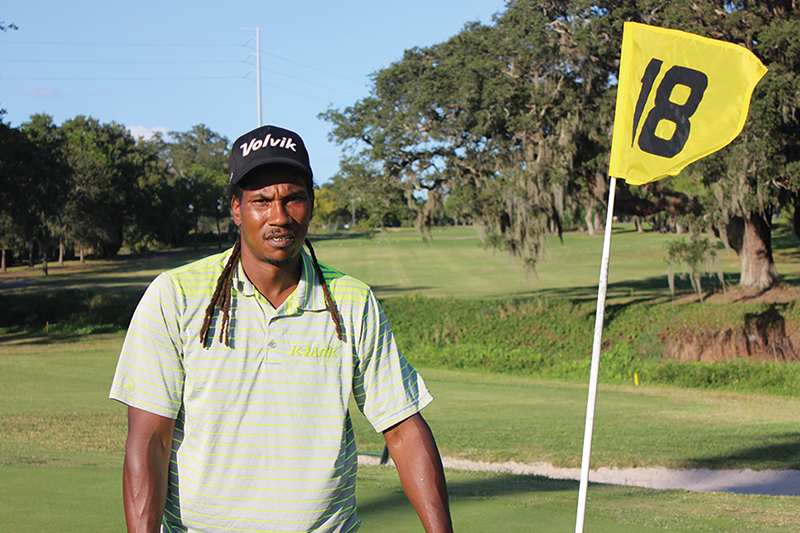 Local golfer's long-drive career