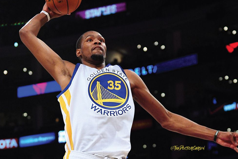 Kevin Durant on pace for historic season