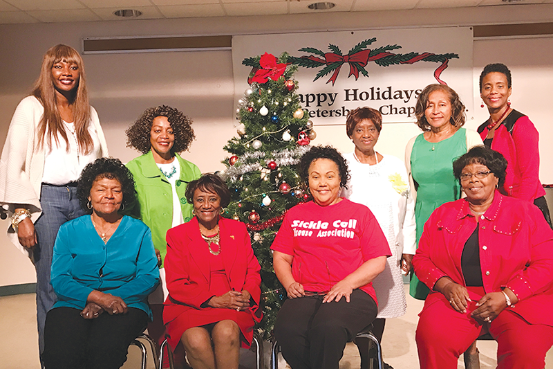 Sickle cell families enjoy holiday luncheon