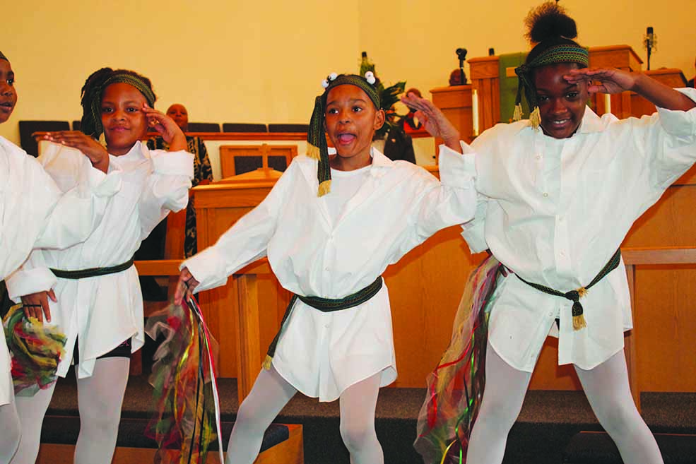 Greater Mount Zion Black History Month youth, featured