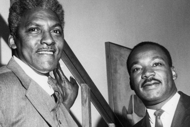 Need inspiration to fight Trump? Look to Bayard Rustin, the man who organized MLK's March on Washington