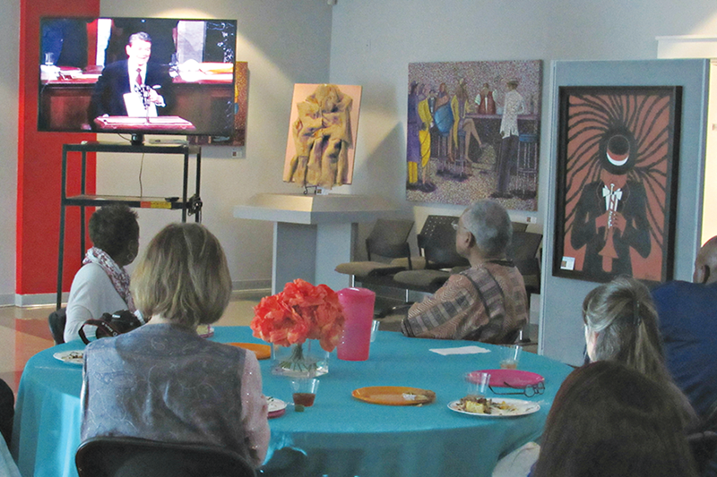 Luncheon, movie and discussion at the Woodson Museum