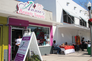 Annie's Beauty Supply celebrates a year on the Deuces
