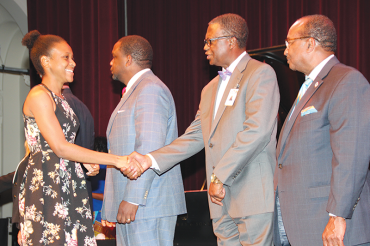 Young men and women honored for academic excellence