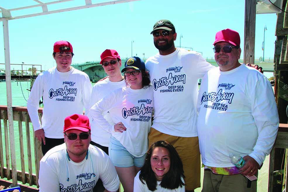 (Kneeling) Cody & Briana Parker (Standing) Austin, Allie Parker, Louis Murphy, Jr., and Ed Parker
