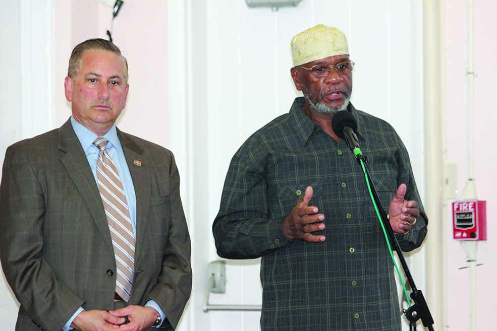 Mayor Kriseman and Imam Abdul Karim Ali