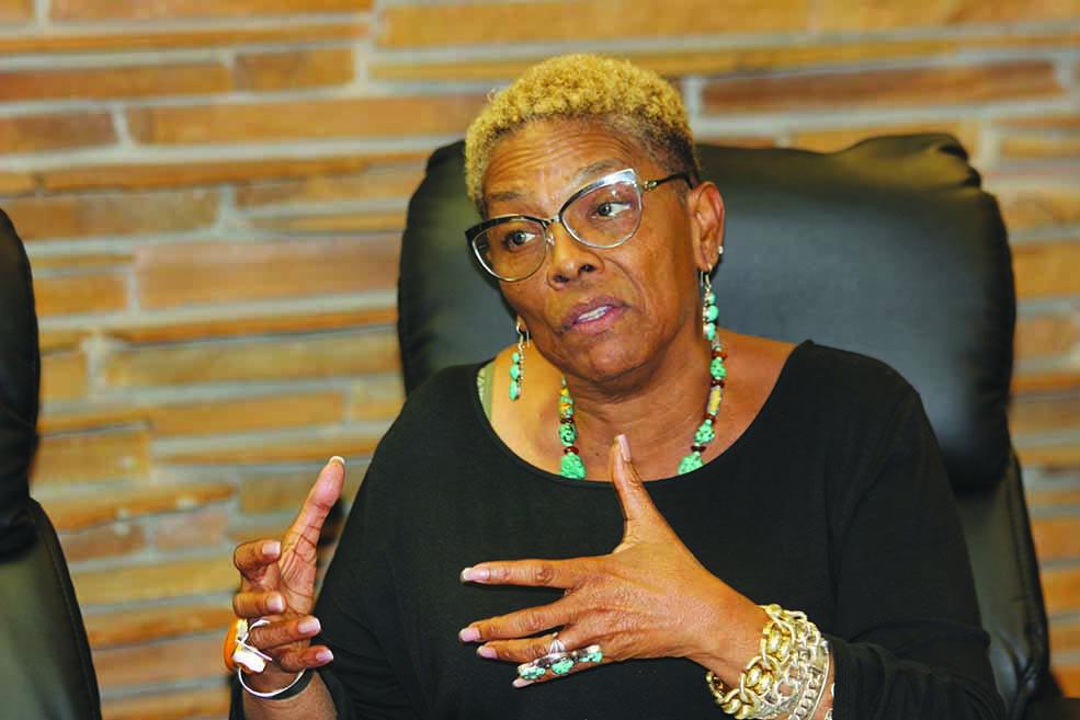 Community activist Gwen Reese