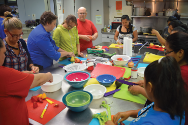 Free Health Matters in Cooking class at Campbell Park Rec. Center