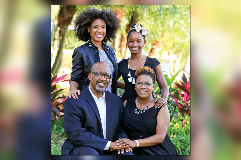 Honored as Family of the Year at 2017 Men & Women Distinction Awards