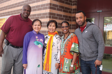 Multiculturalism on display at John Hopkins