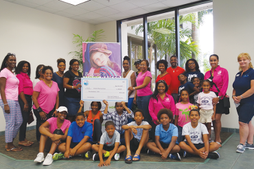 Jack & Jill of America donates $500 and clothing to help foster children
