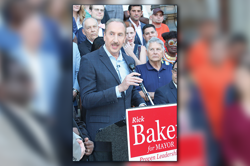 Baker Mayor Bid, featured