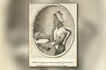 Beyond the painful chains of slavery: Phyllis Wheatley, the first published female African-American poet