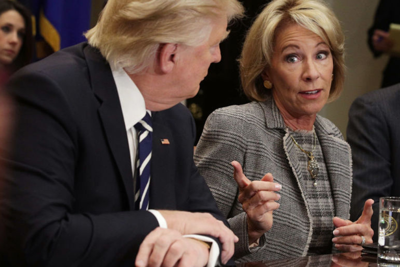 #StayWoke: Betsy DeVos Just Hired the CEO of a For-Profit Student Loan Company to Run Federal Student Aid
