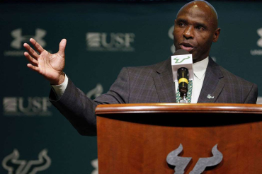 Strong urges fans to get behind USF: 'Let's have a top-25 fan base'