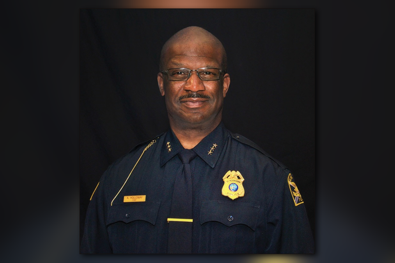 New Faith Free Methodist Church honors the SPPD and Chief Anthony Holloway