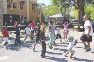 July 4th Block Party, community