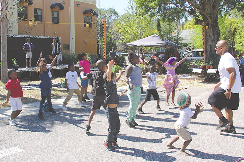 July 4th Block Party to celebrate African families, music and art