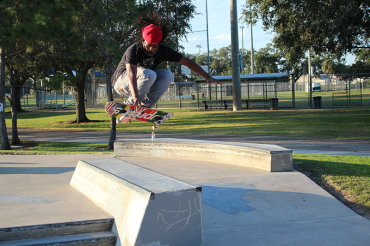 View the final design for the Campbell Park Regional Skate Park