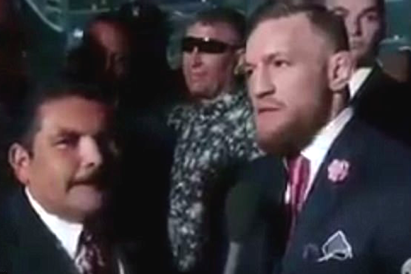 Conor McGregor sparks racism row after appearing to call black people 'monkeys'