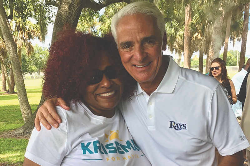 Crist hosts community Block Party