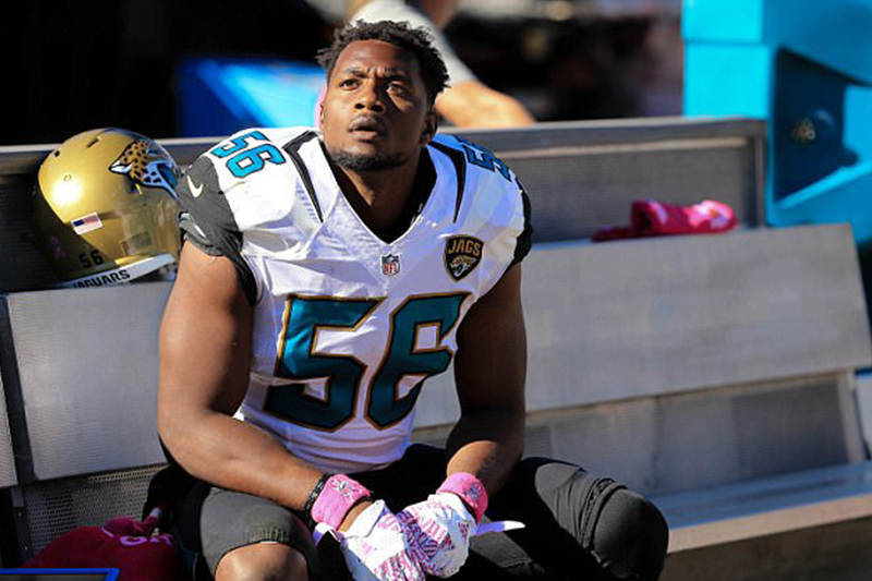 Jacksonville Jaguars Dante Fowler arrested for punching man in face, stepping on glasses