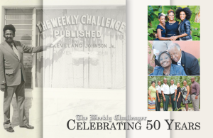 Celebrating 50 Years The Weekly Challenger Newspaper