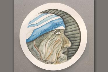 Goutam Chakraborty's miniatures at Gallerie 909