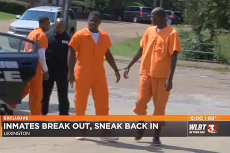 Inmates break out of jail to rob store, break back into jail to sell loot of cigarettes, lighters and phones
