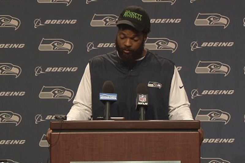Las Vegas police insist there is no evidence that Seahawks' player Michael Bennett racially profiled