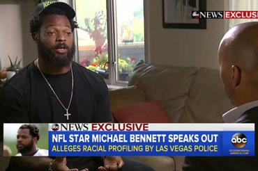 'It's un-American what happened to me, having guns drawn on me': Seahawks star Michael Bennett