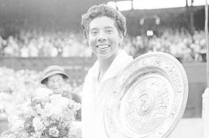 Althea Gibson, visionary, featured