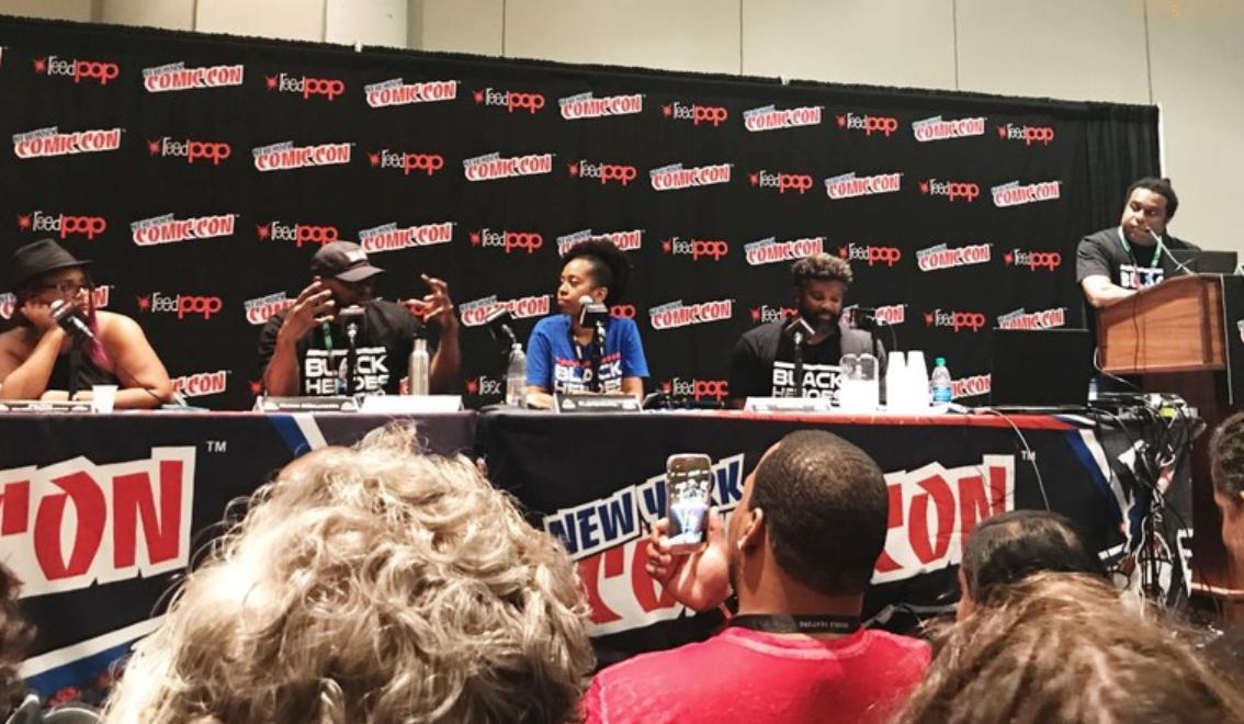 Comic Con Black Panel, black culture, opinion