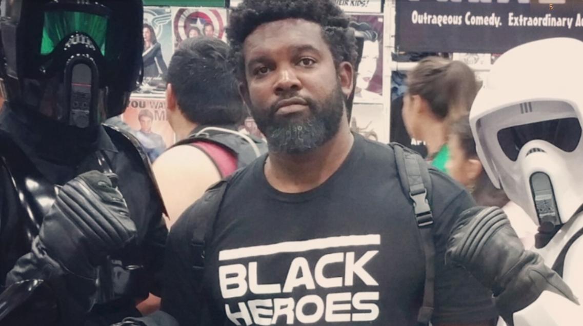 ComicCon Black Hero, black culture, opinion