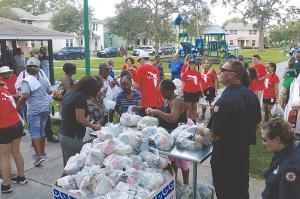 Food Relief, St. Petersburg