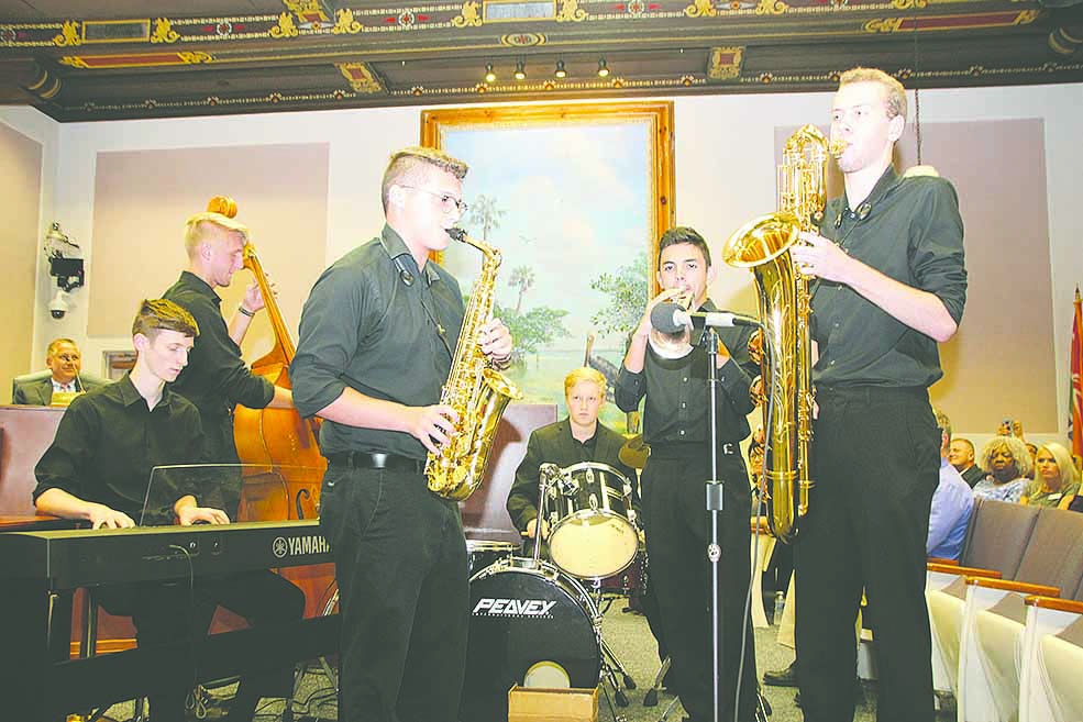 Lakewood Jazz Band, featured