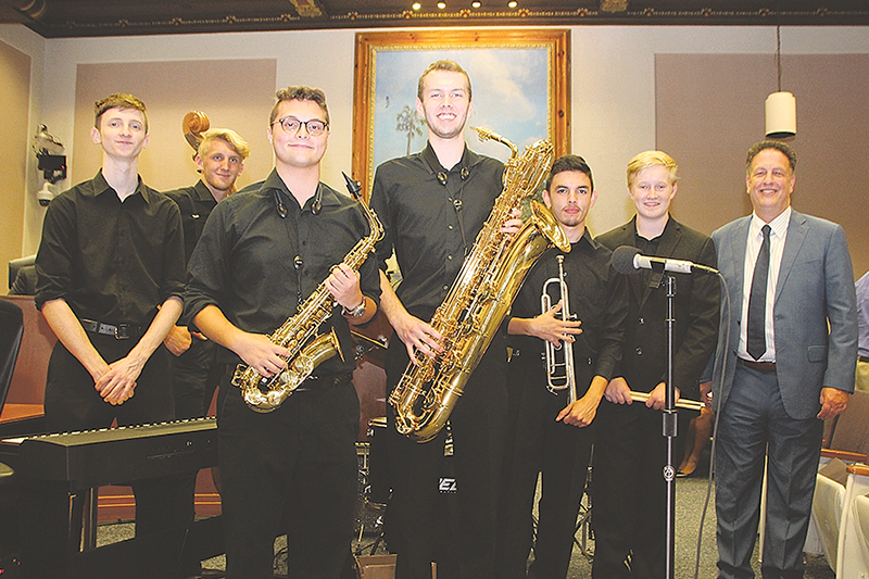 Lakewood High School Jazz Band invited to historic Apollo Theatre